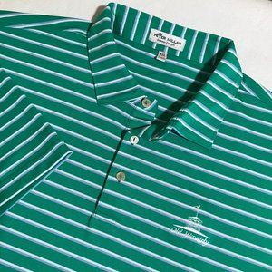 Mens Peter Millar Summer Comfort Short Sleeve Polo